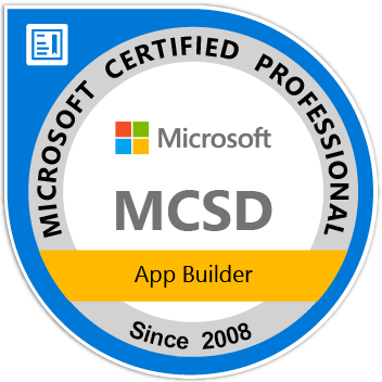 Microsoft Professional Certifications for Developers
